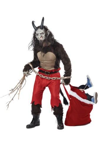 Disfraz de Krampus Demonio de Navidad para adulto