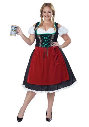 Disfraz para mujer de Oktoberfest talla extra