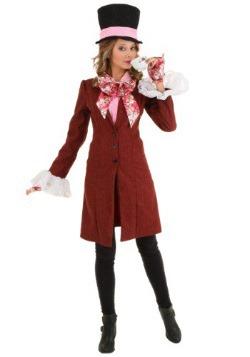 Disfraz de Sombrerero Loco para Mujer Deluxe talla extra