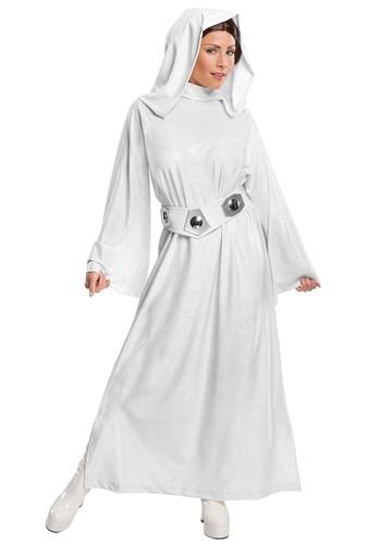 Disfraz de princesa Leia para adulto de lujo