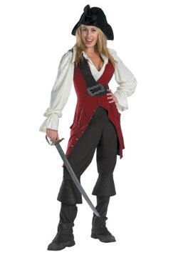 Disfraz de pirata Elizabeth Swann para adulto