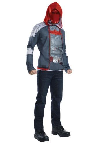 Disfraz de adulto con capucha roja
