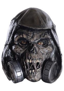 Máscara látex Espantapájaros de Arkham Knight deluxe adulto