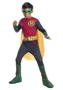 Disfraz infantil de Robin de DC Comics