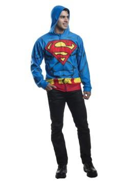 Sudadera con capucha de Superman para adulto