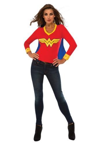 Camiseta deportiva Wonder Woman para mujer