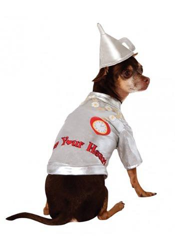 Disfraz para perro de hombre de hojalata