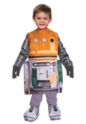 Disfraz de Chopper de Star Wars Rebels para niños pequeños