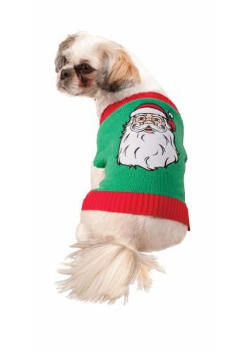 Suéter de Santa Pet