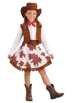 Disfraz de vaquera dulce para niñas