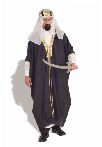Disfraz de jefe árabe para hombre