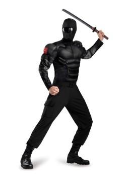 Disfraz de Snake Eyes musculoso clásico para adulto