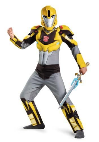 Disfraz de abejorro animado clásico para niños