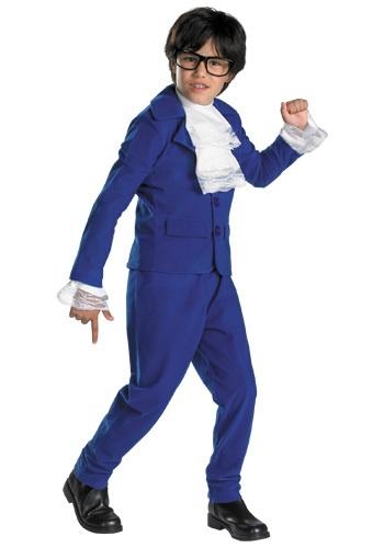 Disfraz infantil deluxe de Austin Powers