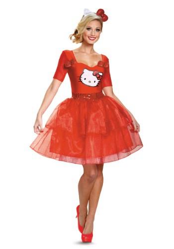 Disfraz de lujo para adulto de Hello Kitty