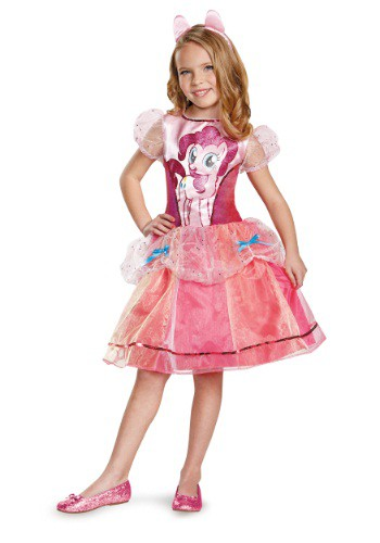 Disfraz de Pinkie Pie Deluxe para niñas