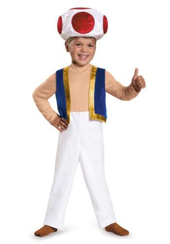 Disfraz de Toad para niños pequeños