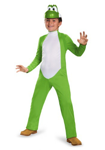 Disfraz de lujo de Yoshi para niño