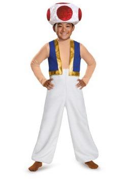 Disfraz de Toad deluxe para niño