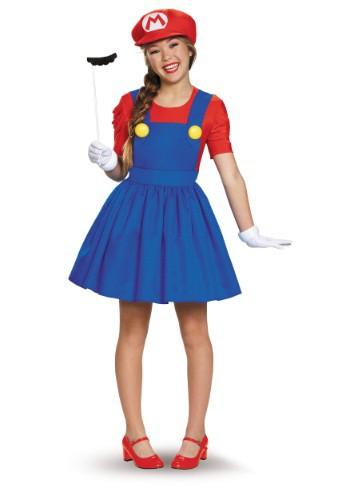 Disfraz de falda de Tweens Mario