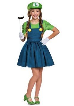 Disfraz de falda de Luigi tween