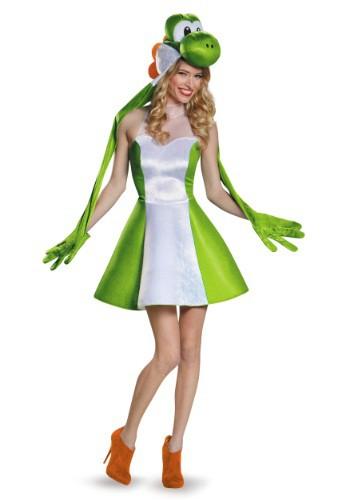 Disfraz de falda Yoshi Tweens