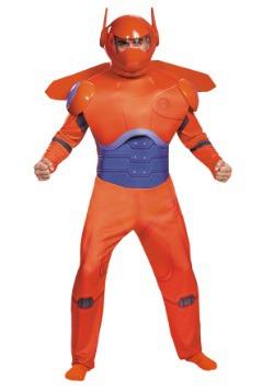 Disfraz rojo de Baymax Deluxe para adulto talla extra