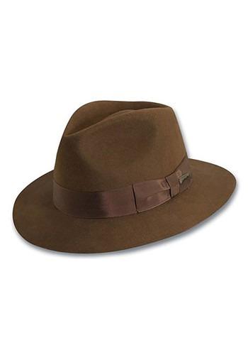 Sombrero auténtico para adulto de Indiana Jones