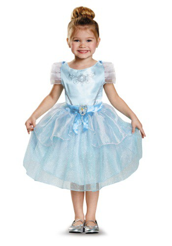 Disfraz de Cenicienta clásico para niños pequeños