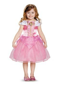 Disfraz clásico de Aurora para niños pequeños