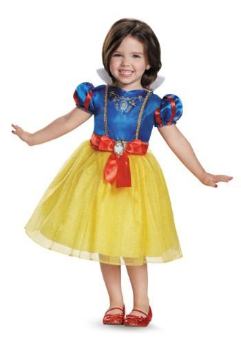 Vestido clásico de Blancanieves clásico para niños pequeños
