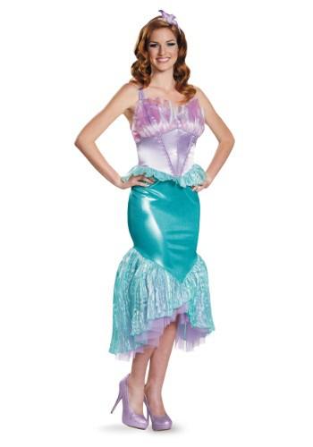 Disfraz de Ariel deluxe para mujer