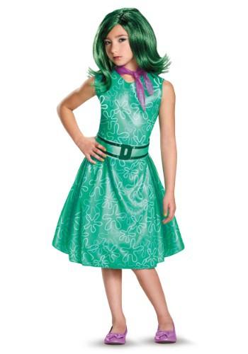 Disfraz de Desagrado clásico de Intensamente para niñas