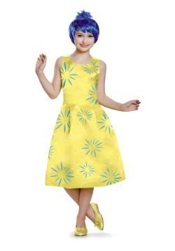 Disfraz deluxe de Alegría de Intensamente para niñas