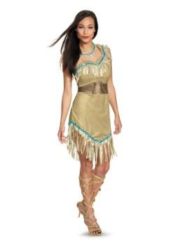 Disfraz de Pocahontas deluxe para mujer
