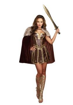 Gladiador de belleza victorioso para mujer