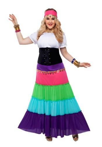 Disfraz gitano renacentista para mujer más talla