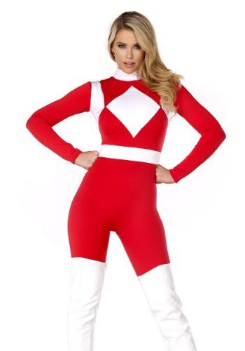 Disfraz de Ranger Rojo Fuerte de la Mujer