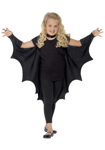 Alas de murciélago negro para niños