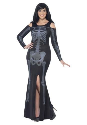 Vestido para mujer Curvas de Esqueleto