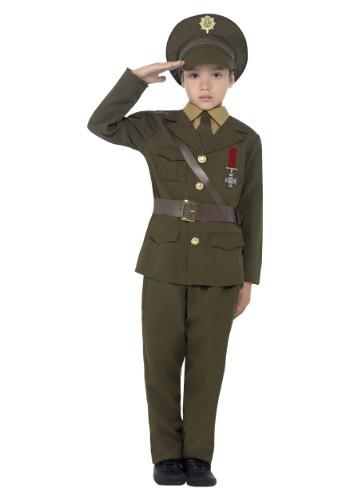 Disfraz de Oficial del Ejército para niños