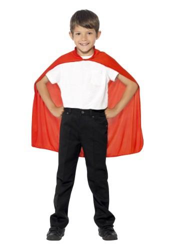 Capa roja  para niños