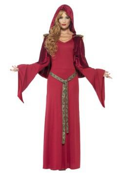 Disfraz de alta sacerdotisa roja para mujer