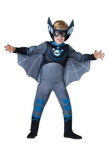 Disfraz de murciélago azul Wild Kratts