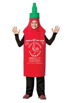 Disfraz de Sriracha para niños