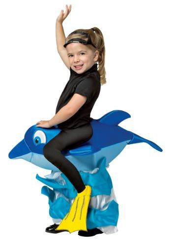 Disfraz de jinete de delfín para niños