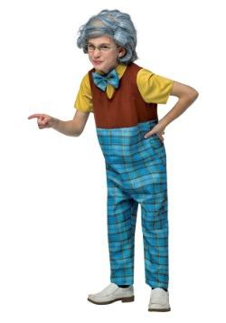 Disfraz de abuelo para niños