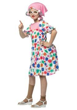Disfraz de abuela para niños