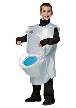 Disfraz de inodoro para niños