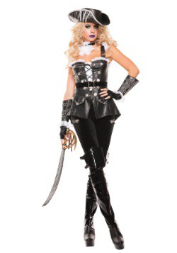 Disfraz para mujer de Pirata Noir